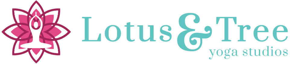 logo lotus tree color
